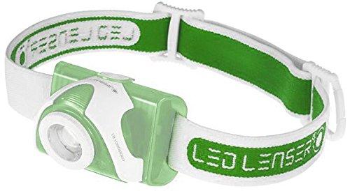 Led Lenser Seo Replacement Headlamp Strap, Green 880136