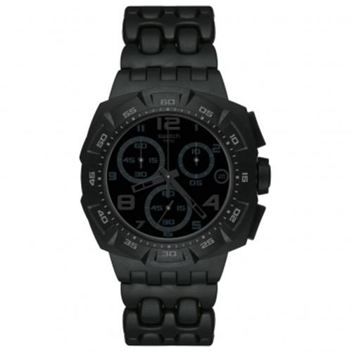 Swatch Men's Chrono Plastic Watch SUIB413