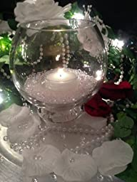 Spring Rose(TM) 2 Inch White Floating Candles-set of 24. These Are Great for Centerpieces or Any Party Related Event. Make Your Next Event Something Everyone Will Remember with These Stunning Wedding Decorations.