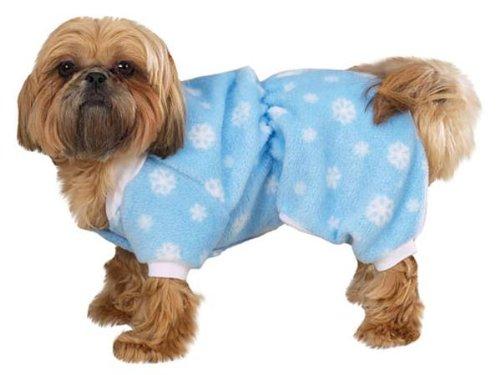 See Zack & Zoey Winter Snowflake Pajamas Xsm Blue