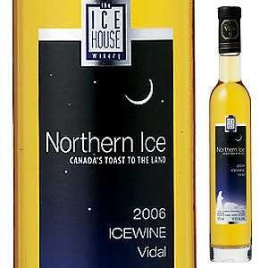 ノーザン アイス ヴィダル アイスワイン ザ アイス ハウス ワイナリー 2012 甘口白 375ml