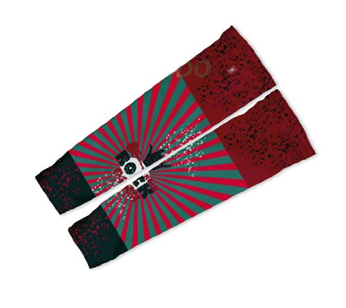 Image of Rock On Arm Warmers Sleeves Unisex Walking/Cycling/Running (01-AWS-165-PM)