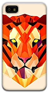 The Racoon Lean Pastel Tiger hard plastic printed back case / cover for Blackberry Z10