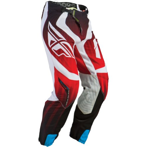 Fly Racing Lite Hydrogen Men'S Mx/Off-Road/Dirt Bike Motorcycle Pants - Red/White / Size 28S