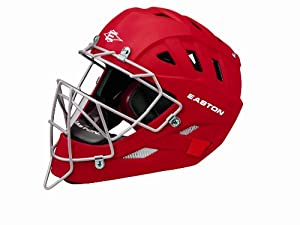 Easton Stealth Speed Elite Catchers Helmet, Red, Large