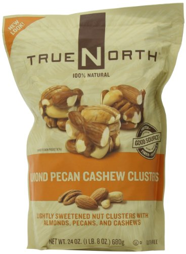 True North Almond Pecan Cashew Clusters 20oz (567g) Food, Beverages ...