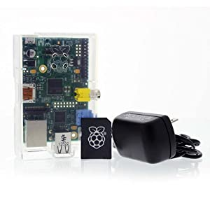 Raspberry Pi Programmers Bundle with Model B Board, Power Supply, Case and Blank SD Card by Raspberry Pi