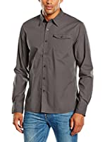 PAUL STRAGAS Camisa Hombre Long Sleeve (Gris)