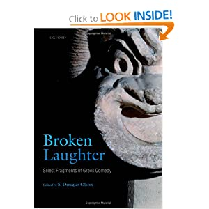 Select Fragments of Greek Comedy - S. Douglas Olson