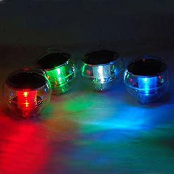 waterproof floating ball multi color rainbow led light. Black Bedroom Furniture Sets. Home Design Ideas