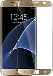 Samsung Galaxy S6 Edge+ Curve Tempered Glass Screen Protector (Gold)
