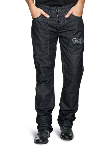 Gio Goi Demo DS Print Relaxed Men's Jeans Waresin Wash W34 INxL32 IN