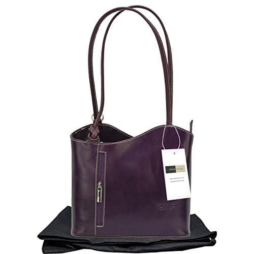Italian Leather, Handbag, Shoulder Bag or Back Pack. Medium and Large Versions. Includes a Protective Storage...