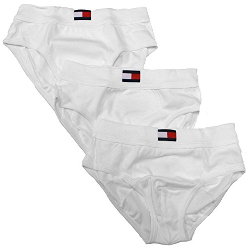 Tommy Hilfiger Mens Classic Hip Briefs 3 Pack