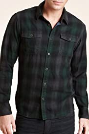 Slim Fit North Coast Pure Cotton Tonal Checked Shirt [T25-5992N-S]