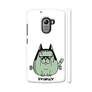 Colorpur Franky The Cat Designer Mobile Phone Case Back Cover For Lenovo Vibe K4 Note | Artist: Giordano Aita
