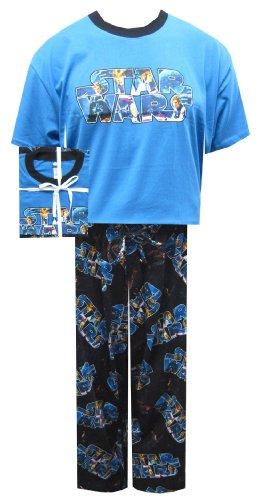 Star Wars Classic Logo Pajama Gift Set for men