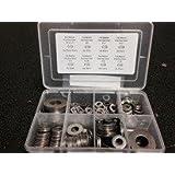 Stainless Steel Flat Washer Assortment Kit (230PCS)
