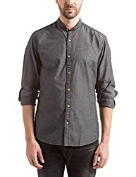 Prym Men's Casual Shirt (8907423014718_2011509001_X-Large_Grey)