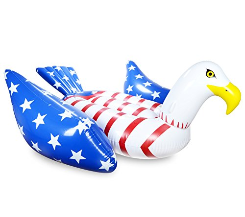 mimosa-inc-american-flag-bald-eagle-inflatable-premium-quality-giant-size-pool-float