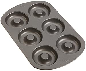 Wilton Nonstick 6-Cavity Donut Pan New Free Shipping