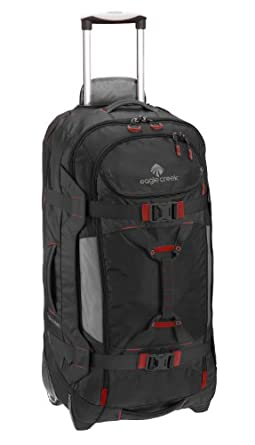 Eagle Creek Luggage Gear Warrior Wheeled Duffel 32, Black, One Size