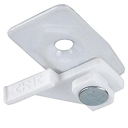 Riel Chyc Support plafond pour rail avec étrier P950 Blanc