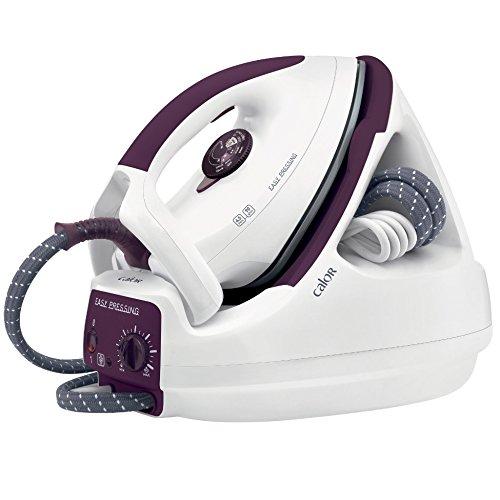 CALOR Easy Pressing GV5230 - Centrale Vapeur Pression et Puissance - Blanc/violet