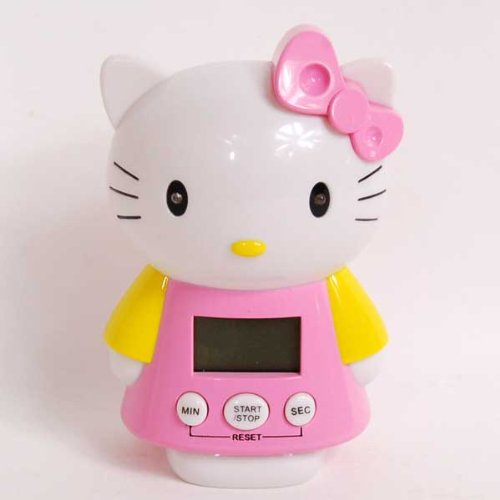 Hello Kitty Digital Timer Countdown Clock w/ Alarm