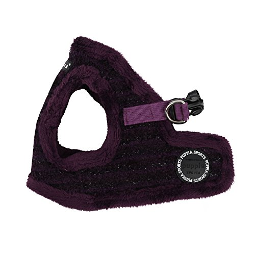 Puppia Authentic Wafer Vest Harness B, Large, Purple (Puppia Purple Vest Harness compare prices)