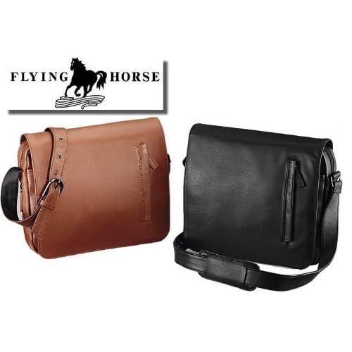 【FLYING HORSE】ホースレザー(馬革)キャンパスキャリーオール/エンボス (ブラウン)