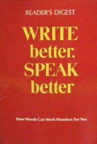 write better speak better book pdf