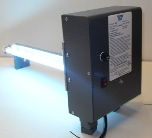 Duct Air Purifier : Second wind uv air purifier model hvac duct furnace