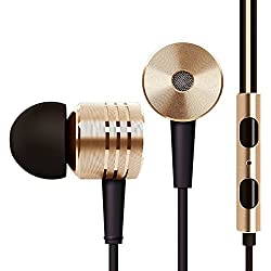 Colourful Jack 3.5Mm Piston Model Stereo In-Ear Headphone ( Colors May Vary ) Headset Earbud With REmote Mic For Xiaomi Redmi Mi2 Mi2S Mi3 Hongmi Samsung HTC Sony Hauwei Only From M.P.Enterprises