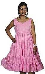 Baja Women's Dress (DSLN_PK, Pink , S)