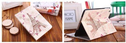 NEW IPAD case covor フランスのデザイン アイパッドカバー apple Leather Case iPad レザーケースカバー 高級デザイン フェイクレザー アップル スタンドケースfor iPad2 iPad3 iPad4 軽量 数量限定LH-F