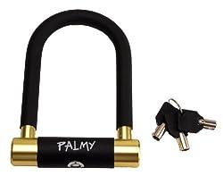 PALMY(パルミー) アルミシャックルロック P-ES-101AL/Φ15mm ゴールド