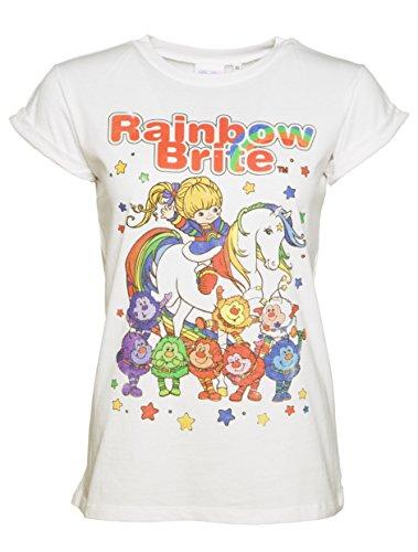 damen-rainbow-brite-und-sprites-gerollt-sleeve-freund-t-shirt
