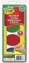 Crayola My First Jumbo Washable Watercolors Set