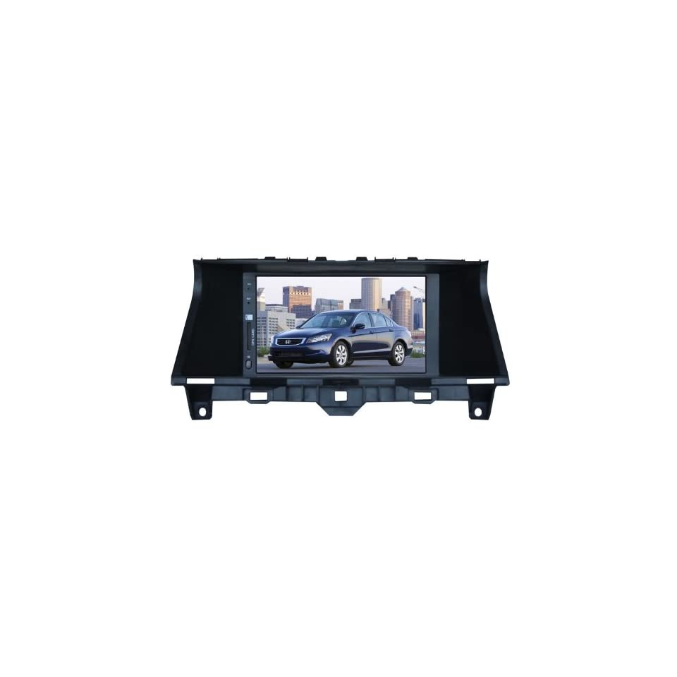 Eagle for 2008 2012 Honda Accord (US) Car GPS Navigation DVD Player Audio Video System with Radio (AM/FM),Bluetooth Hands Free,USB, AUX Input,(free Map),Plug & Play Installation