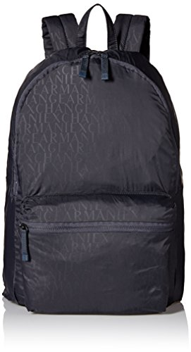 armani-exchange-mens-shiny-all-over-logo-backpack-navy