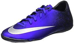 Nike MercurialX Victory V Ronaldo Indoor Shoes [DEEP ROYAL BLUE] (12.5)