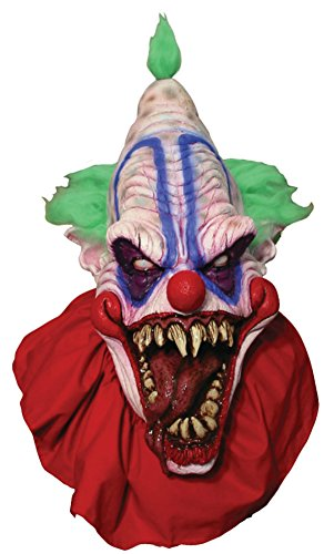 Big Top Evil Scary Clown Horror Latex Adult Halloween Costume Mask