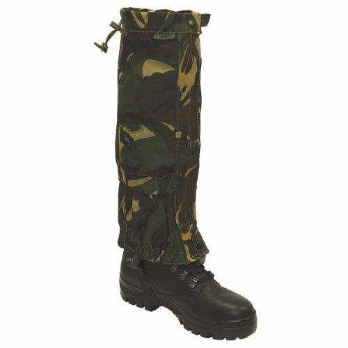 Highlander Military Army Waterproof Gaiters Camo Hiking