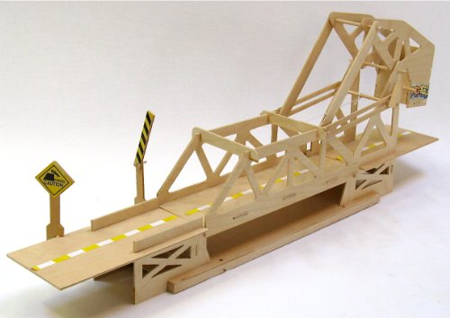 Two-Level Working Model of a Strauss Trunion Bascule Bridge
