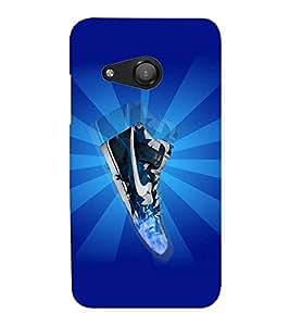 EPICCASE Shiny Sneakers Mobile Back Case Cover For Microsoft Lumia 550 (Designer Case)