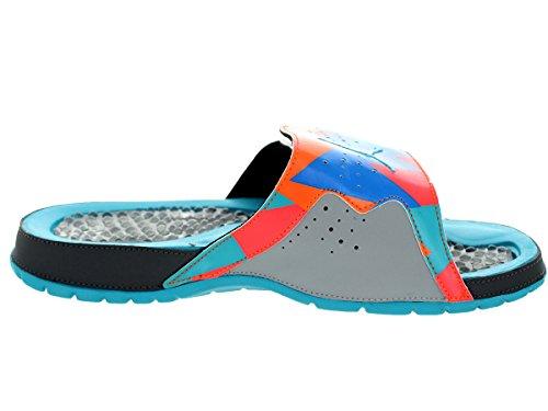 pictures of Nike Jordan Men's Jordan Hydron VII Retro Drk Gry/Trqs Bl/Wlf