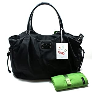 Kate Spade Stevie Baby Bag Basic Nylon Black Diaper Bag (Black) #WKRU1370 by Kate Spade from Kate Spade
