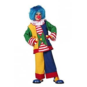 Amazon.com: Kinder-Kostüm Clown, Gr. 140-152 by Stekarneval: Toys