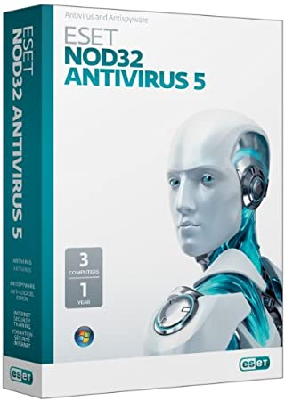 Nod32 Antivirus Version 5 - 3 Users - Online